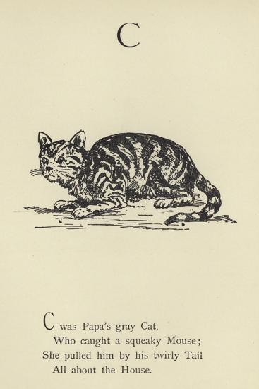 The Letter C-Edward Lear-Giclee Print