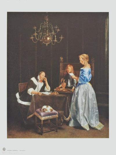 The Letter-Gerard Terborch-Collectable Print