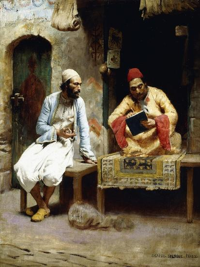 The Letter-Charles Sprague Pearce-Giclee Print