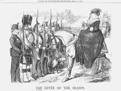 The Levée of the Season, 1874-Joseph Swain-Giclee Print