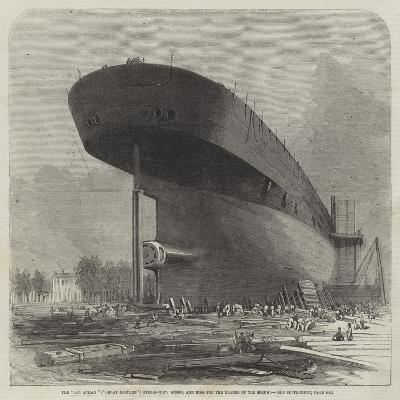The Leviathan (Great Eastern) Steam-Ship, Stern, and Boss for the Blades of the Screw-Edwin Weedon-Giclee Print