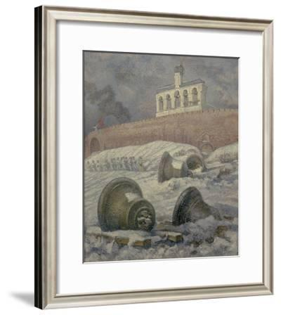The Liberation Day. Novgorod. 1944, 1985-Larisa Petrovna Novikova-Framed Giclee Print