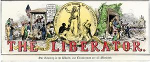 The Liberator : Masthead of William Lloyd Garrison's Abolitionist Newspaper
