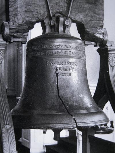 The Liberty Bell, Cast in 1752--Giclee Print