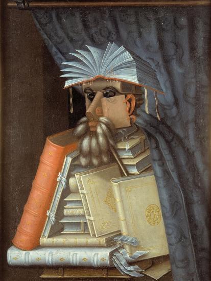 The Librarian-Giuseppe Arcimboldo-Giclee Print