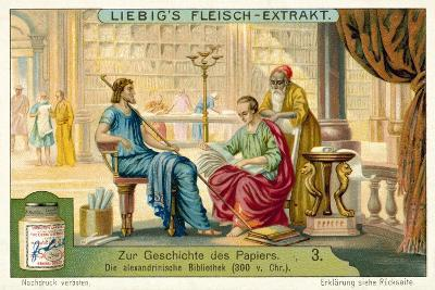 The Library of Alexandria, 300 BC--Giclee Print