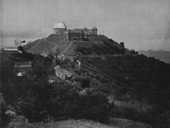 'The Lick Observatory', 19th century-Unknown-Photographic Print