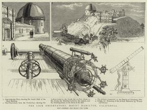 The Lick Observatory, Mount Hamilton, California
