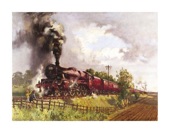 The Lickey Incline-Terence Cuneo-Premium Giclee Print