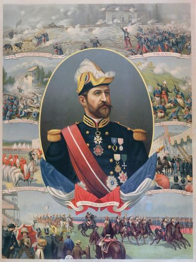The Life of General Georges Ernest Boulanger (1837-91), C.1886--Giclee Print
