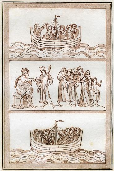 The Life of Thomas Becket-Joseph Strutt-Giclee Print