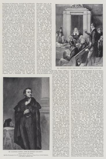 The Life of William Ewart Gladstone--Giclee Print