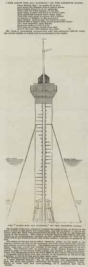 The Light for All Nations, on the Goodwin Sands--Giclee Print