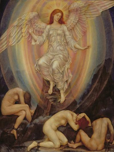 The Light Shineth in Darkness and the Darkness Comprehendeth it Not, 1906-Evelyn De Morgan-Giclee Print
