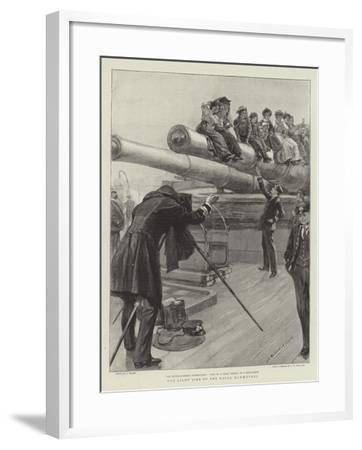 The Light Side of the Naval Manoeuvres--Framed Giclee Print