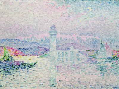 The Lighthouse at Antibes, 1909-Paul Signac-Giclee Print