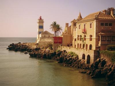 The Lighthouse, Cascais, Estremadura, Portugal, Europe-Firecrest Pictures-Photographic Print