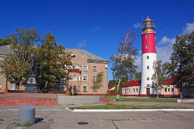 The Lighthouse in the Baltic-Ekaterina Ufimtseva-Photographic Print