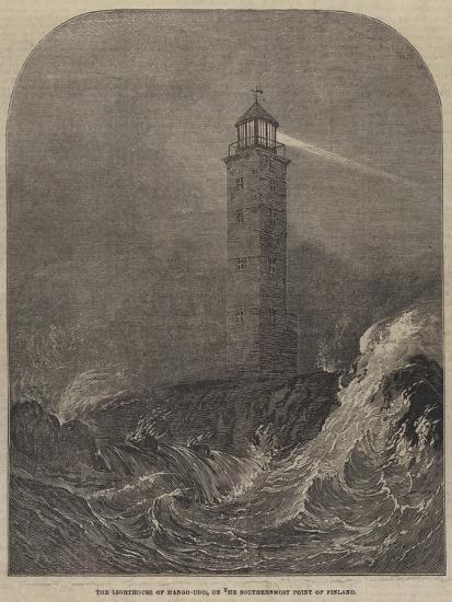 The Lighthouse of Hango-Udd, on the Southernmost Point of Finland--Giclee Print