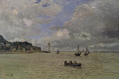 The Lighthouse of Honfleur-Claude Monet-Giclee Print