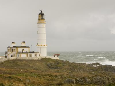 The Lighthouse on Corsewall Point on the Rhins of Galloway, Scotland, UK-Ashley Cooper-Photographic Print