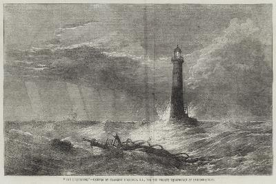 The Lighthouse-George Clarkson Stanfield-Giclee Print