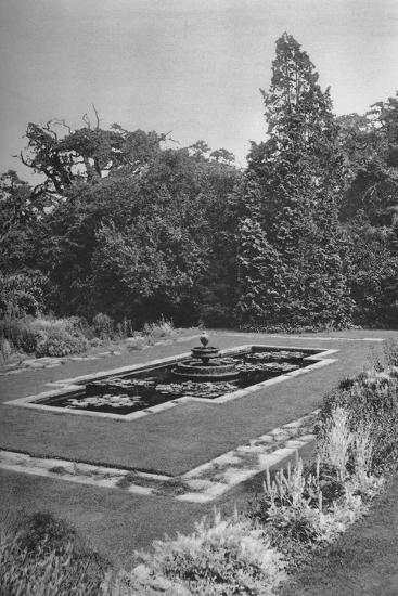 'The Lily Basin, The White Lodge, Richmond', 1926-Unknown-Photographic Print