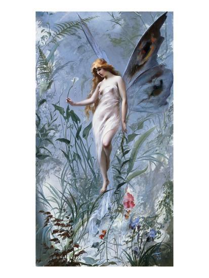 The Lily Fairy-Luis Ricardo Falero-Giclee Print