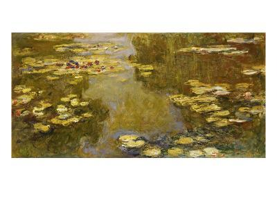The Lily Pond, 1913-Claude Monet-Giclee Print