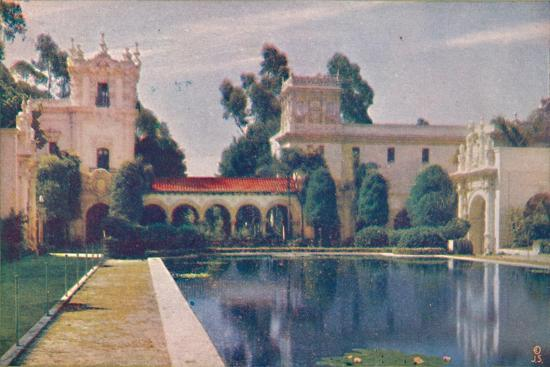 'The Lily Pond', c1935-Unknown-Giclee Print