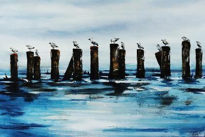 The Line Up-Sydney Edmunds-Giclee Print