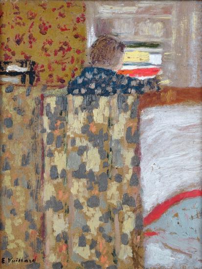 The Linen Cupboard, C.1893-95-Edouard Vuillard-Giclee Print