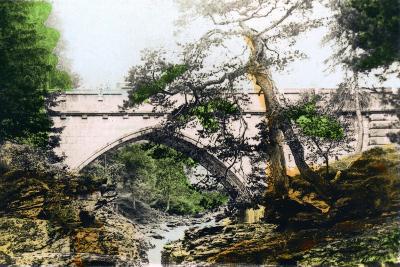 The Linn of Dee, Braemar, Aberdeenshire, 1926--Giclee Print