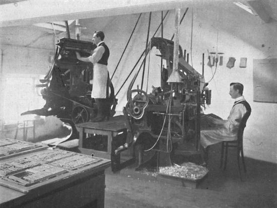 'The Linotypes', 1916-Unknown-Photographic Print