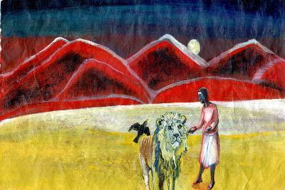 The Lion and the Blackbird, 2004-Gigi Sudbury-Giclee Print