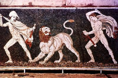 The Lion Hunt, 4th Century Bc--Photographic Print