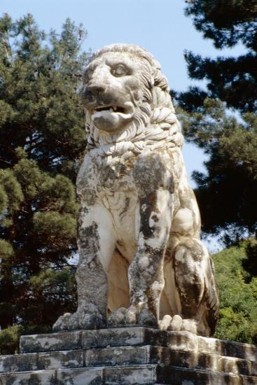 The Lion of Amphipolis, in Macedonia, Northern Greece Dates to the 2nd C Bc--Giclee Print