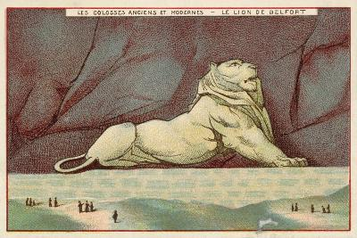 The Lion of Belfort, France--Giclee Print