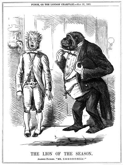 The Lion of the Season, 1861-John Leech-Giclee Print