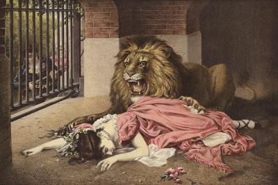 The Lion's Bride--Giclee Print
