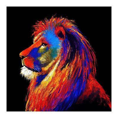 The Lion-Clara Summer-Art Print