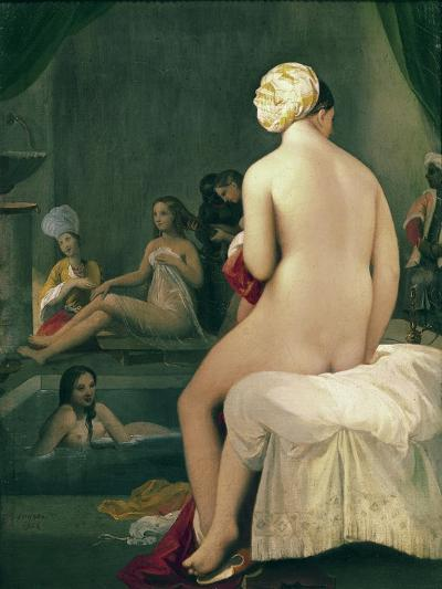 The Little Bather in the Harem, 1828-Jean-Auguste-Dominique Ingres-Giclee Print
