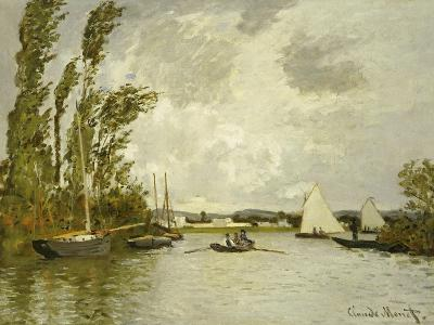 The Little Branch of the Seine-Claude Monet-Giclee Print