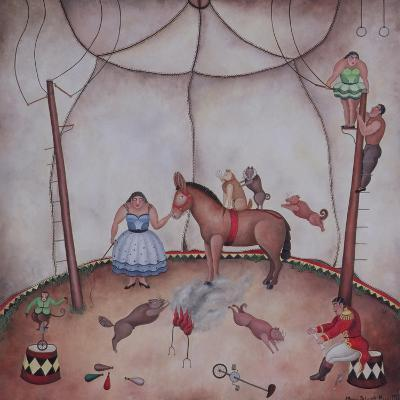 The Little Circus, 1980-Mary Stuart-Giclee Print