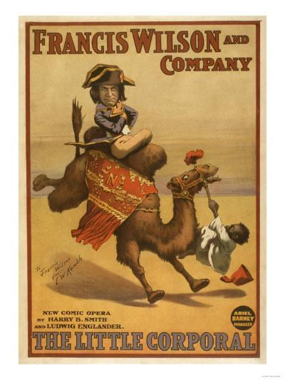 """""""The Little Corporal"""" Camel Egyptian Baby Theatre Poster-Lantern Press-Art Print"""