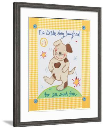 The Little Dog Laughed-Sophie Harding-Framed Premium Giclee Print