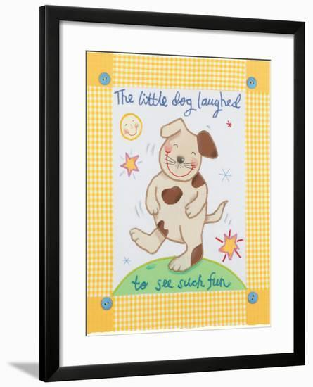 The Little Dog Laughed-Sophie Harding-Framed Premium Giclee Print