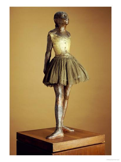 The Little Fourteen Year Old Dancer, Cast 1921-Edgar Degas-Giclee Print
