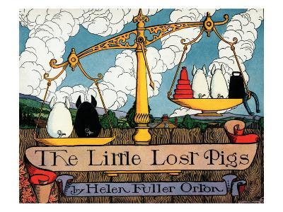 The Little Lost Pigs-Luxor Price-Art Print