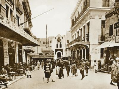The Little Market, Tangiers, Morocco--Photographic Print